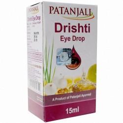 Глазные капли Дришти Патанджали, Divya Patanjali Drishti Eye Drops, 10мл