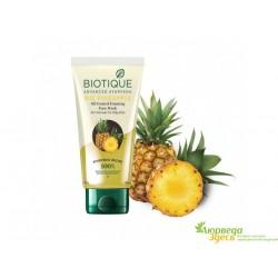 Гель для умывания Био Ананас для нормальной и жирной кожи, Bio Pineapple Oil Control Foaming Face Cleanser.