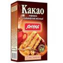 Какао порошок кондитерський тёмный, Ямуна, коробка 80 грамм