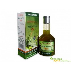 Масло для волос Кеш Канти 300 мл. лечебное укрепляющее Патанджали, Divya Kesh Kanti tail, Patanjali Hair Oilю