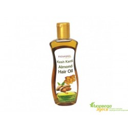 Масло для волос Миндальное Патанджали 200мл., Almond Hair Oil, Patanjali.