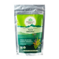 Чай органический Тулси, Базилик 100 грм., слим-пакет, Tulsi, Organic India Zipper