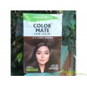 Краска для волос Колор Мейт Светло-Коричневая с аюрведическими травами, Color Mate Herbal Based Ammonia Free Hair Color With