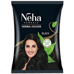 Хна для волос Чёрная, Neha Herbal Black, 18грамм