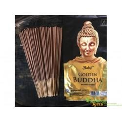 Благовоние Balaji Golden Buddha 110г., Баладжи Голден Будда с ароматом Сандала, Муска и Чампы, Аюрведа Украина!