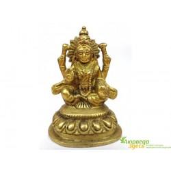 Статуэтка бронзовая ручная работа пр-во Индия 9,5 см. Лакшми, Аюрведа