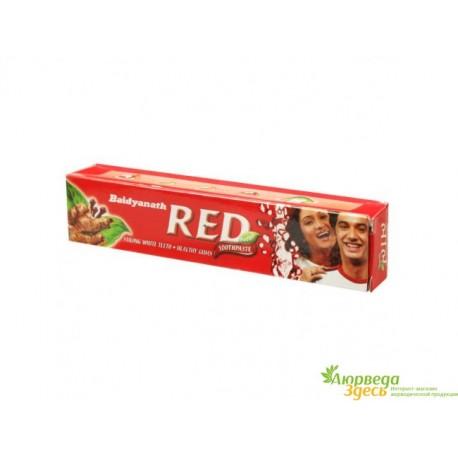Красная Зубная паста Dabur Red Дабур Рэд, 200 грм.