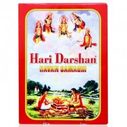 Благовоние порошковое 400г. смесь трав и древесины c камфорой Havan Samagri Hari Darshan