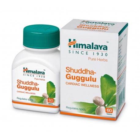 Шудха Гуггулу- Камфора Вайгта Himalaya Shuddha Guggulu - широкий спектр действия
