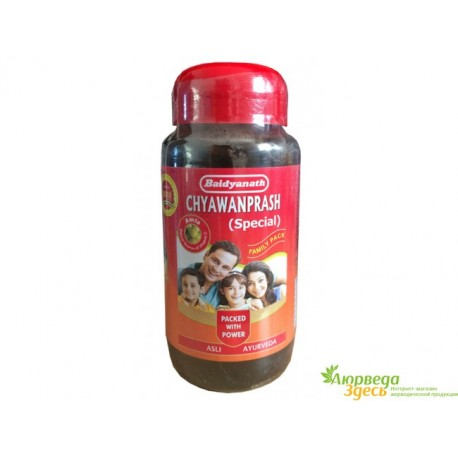 Чаванпраш Байдьянатх Особый, 500 грм., Baidyanath Chyawanprash Special, мощная комбинация 51 растения!