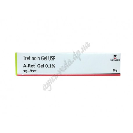 Ретинол, Третиноин крем от прыщей и морщин, Tretinoin Retino - A 0,1 %, 20 г., Аюрведа