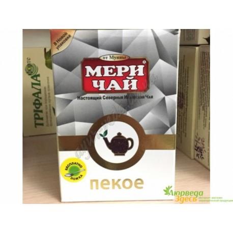 Черный Крупнолистовой Индийский Чай Пекое, Чай Мери, Meri Chai Pekoe Supreme, 100грамм