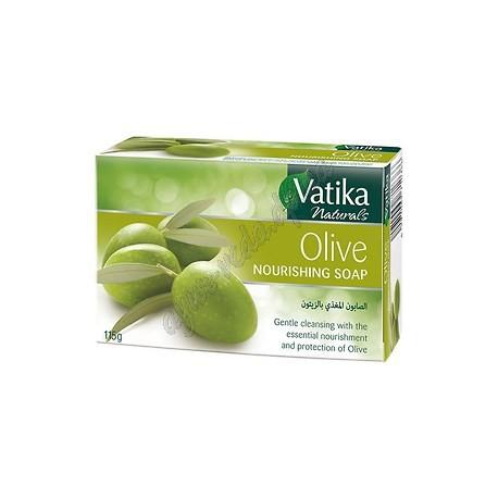 Мыло питательное Дабур Dabur Vatika Naturals Olive Nourishing с Оливкой и Алоє