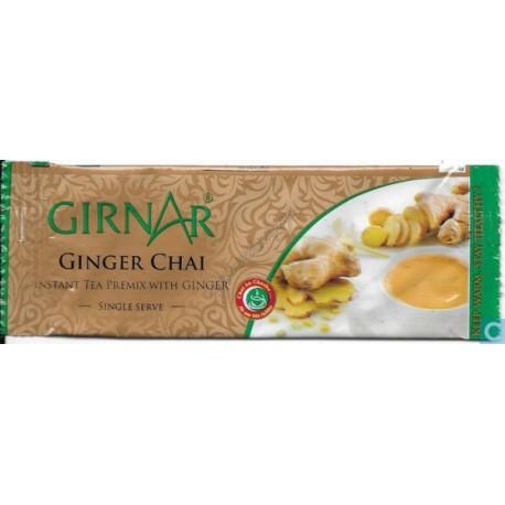 Розчинний чай Імбир Гірнар, Girnar Ginger Chai 14г, Аюрведа