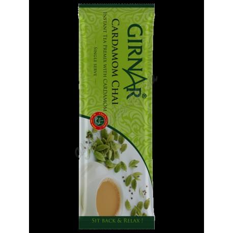 Розчинний чай Кардамон Гірнар, Girnar Cardamom Chai 14г, Аюрведа