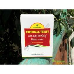 Тріфала в таблетках Нагарджуна екстракт, 100 таб. Тріпхала, Triphala tablets Nagarjuna, очищення організму та покращення роботи