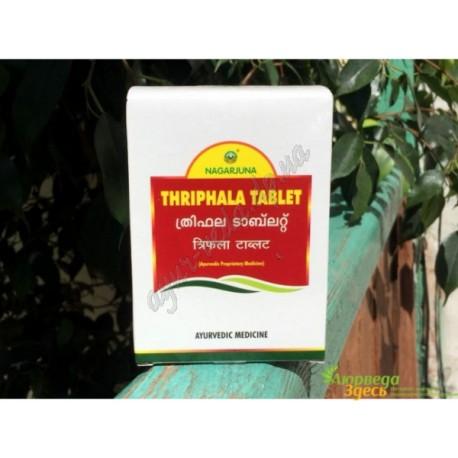Трифала в таб. Gurukul, 100 таб., трипхала очищение и омоложение, Triphala, Гурукул, Аюрведа