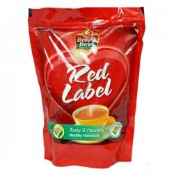 Чай чорний Гранульований Ред Лейбл Брук Бонд 100г м*яка пачка, Red Label Brooke Bond, Чай чёрный Гранулированный Рэд Лэйбл