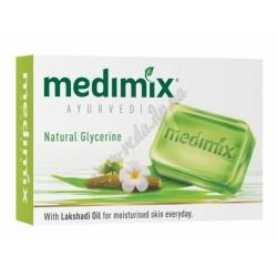 Аюрведическое мыло Медимикс с Глицерином и маслом Лакшади, Medimix Glycerine and Lakshadi Oil Ayurvedic Soap, 75 грамм