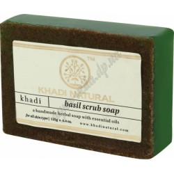 Мыло Кхади Базилик, Khadi Natural Basil Mauri Herbal Soap