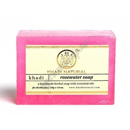 Мыло Кхади Роза, Khadi Herbal Rose Soap, Аюрведа