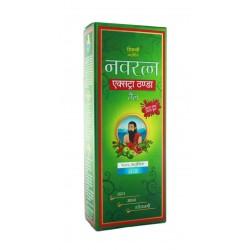 Масло Навратна зеленое, для головы и волос, Navratna oil Extrathanda, 100мл