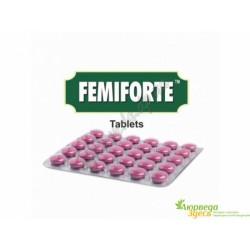 Феміфорте Чарак 30 таб., Charak Femiforte, Фемифорте, протизапальна жіноча добавка, Аюрведа