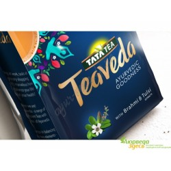 Чай ТиВеда Тата 100 г., Tata Tea Teaveda, Восхитительный Чай Асам с Брахми и Тулси