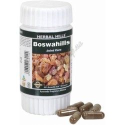 Босвахілс 60 кап. Хербал Хілс, Boswellia serrata, Босвелия серрата, Boswahills Herbal Hills, при захворюванні суглобів