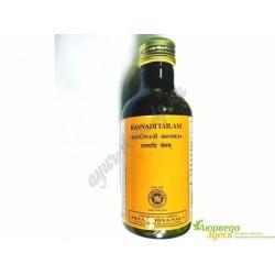 Раснади ТАИЛ, уникальное масло для выведения токсинов и укрепления всего организма, RASNADI THAILAM, Kottakkal