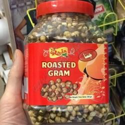 Закуска Ростед Чана Крекер 500г, пикантные индийские орешки, Аюрведа