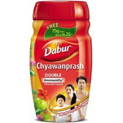 Дабур Чаванпраш 575 г. двойной иммунитет, Dabur Chyawanprash Double Immunity, Аюрведа,