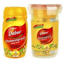 Дабур Чаванпраш со вкусом Манго 500 грм., Chyawanprash Awaleha Mango