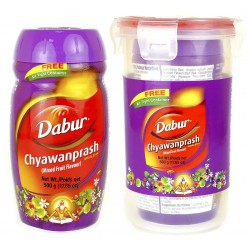 Чаванпраш Фруктовый Дабур, Chyawanprash Awaleha Mixed Fruits, Dabur 500 грамм