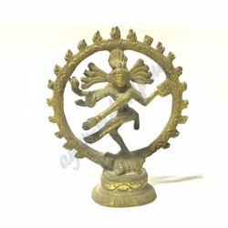"Бронзова фігурка ""Шіва Натарадж"" висота 8 см., Бронзовая статуэтка ""Шива Натарадж"" Аюрведа,"