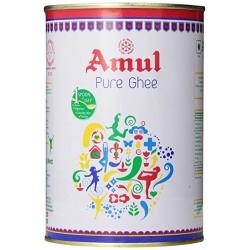 Масло Гхи Amul Премиум, жестяная банка, Desi Ghee Paras Premium, Ведический продукт питания для Долголетия и Здоровья!