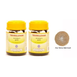 Триврил Лехам, глубокое очищение организма от шлаков и токсинов 200 г, Коттаккал, Trivrilleham, Kottakkal Ayurveda,